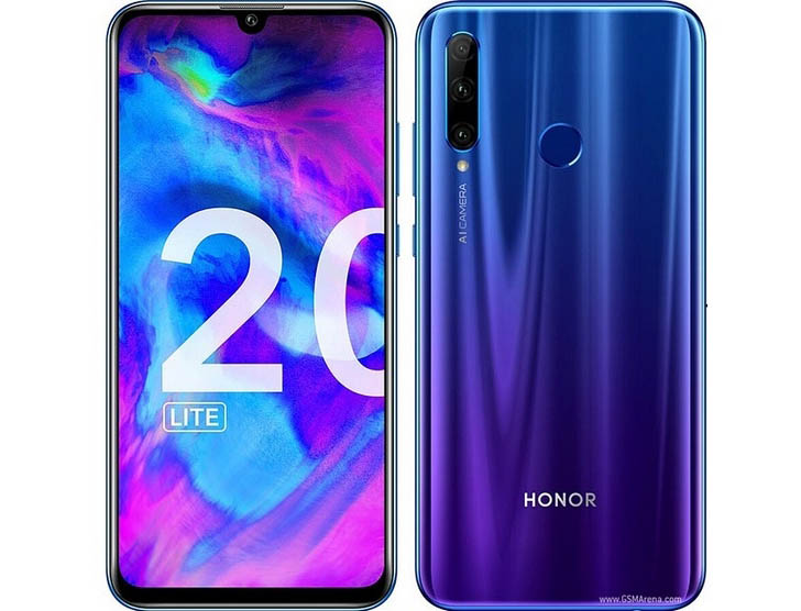 Смартфон Honor 20 Lite оценили в €299