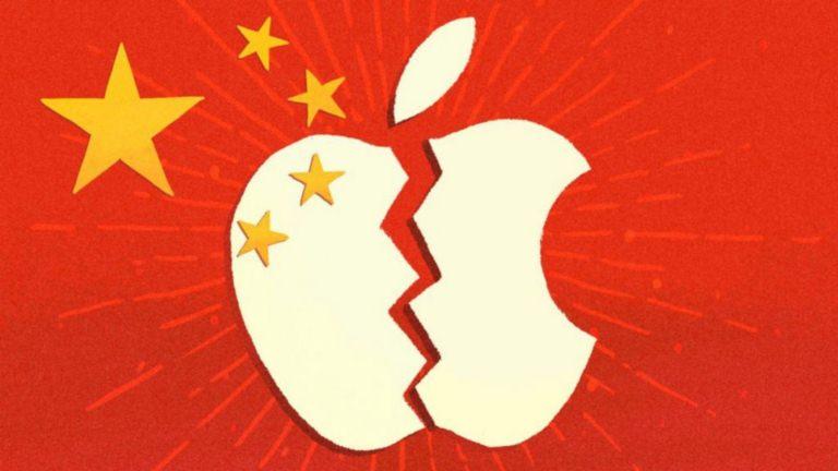 В Китае объявлен тотальный бойкот iPhone ради Huawei