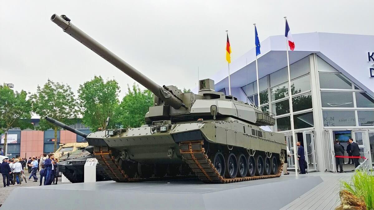 В Європі планують створити танк нового покоління Eurotank