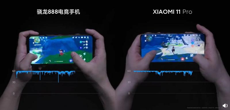Xiaomi показала, як Xiaomi Mi 11 Pro справляється з іграми