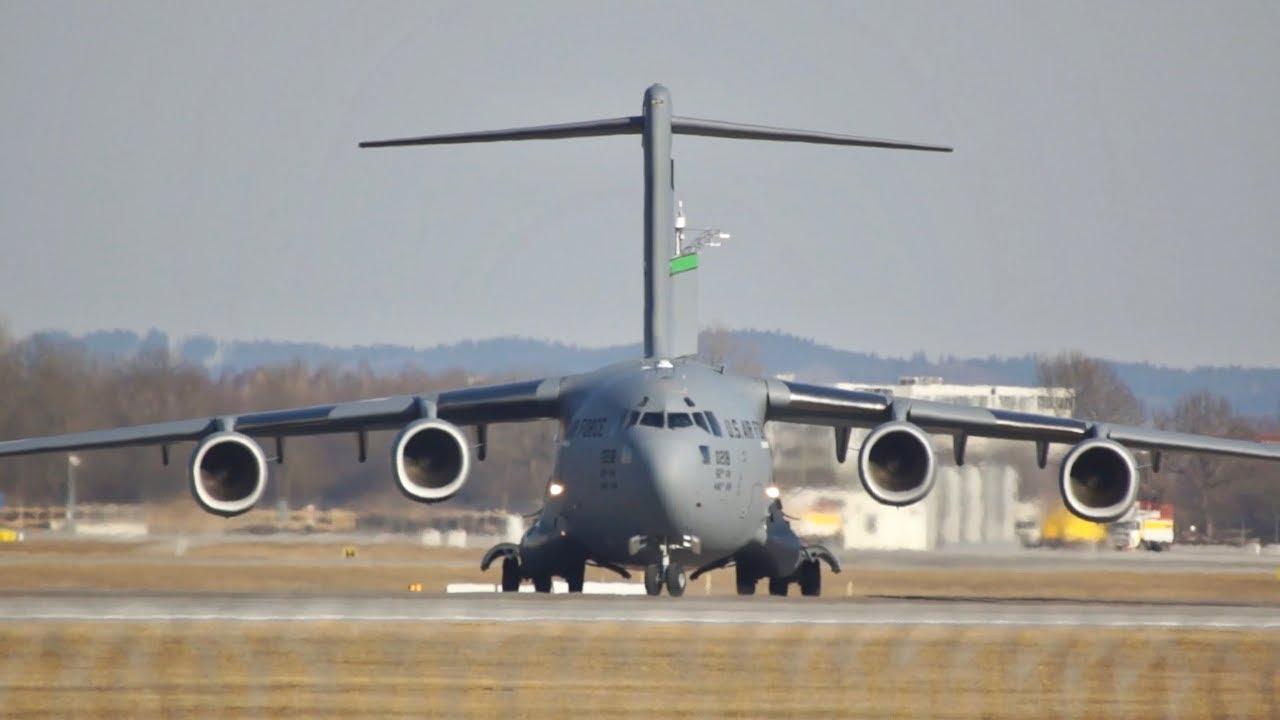 ВПС США показали відео випробувань літаків C-17A Globemaster III і EC-130J Super J – Український телекомунікаційний портал