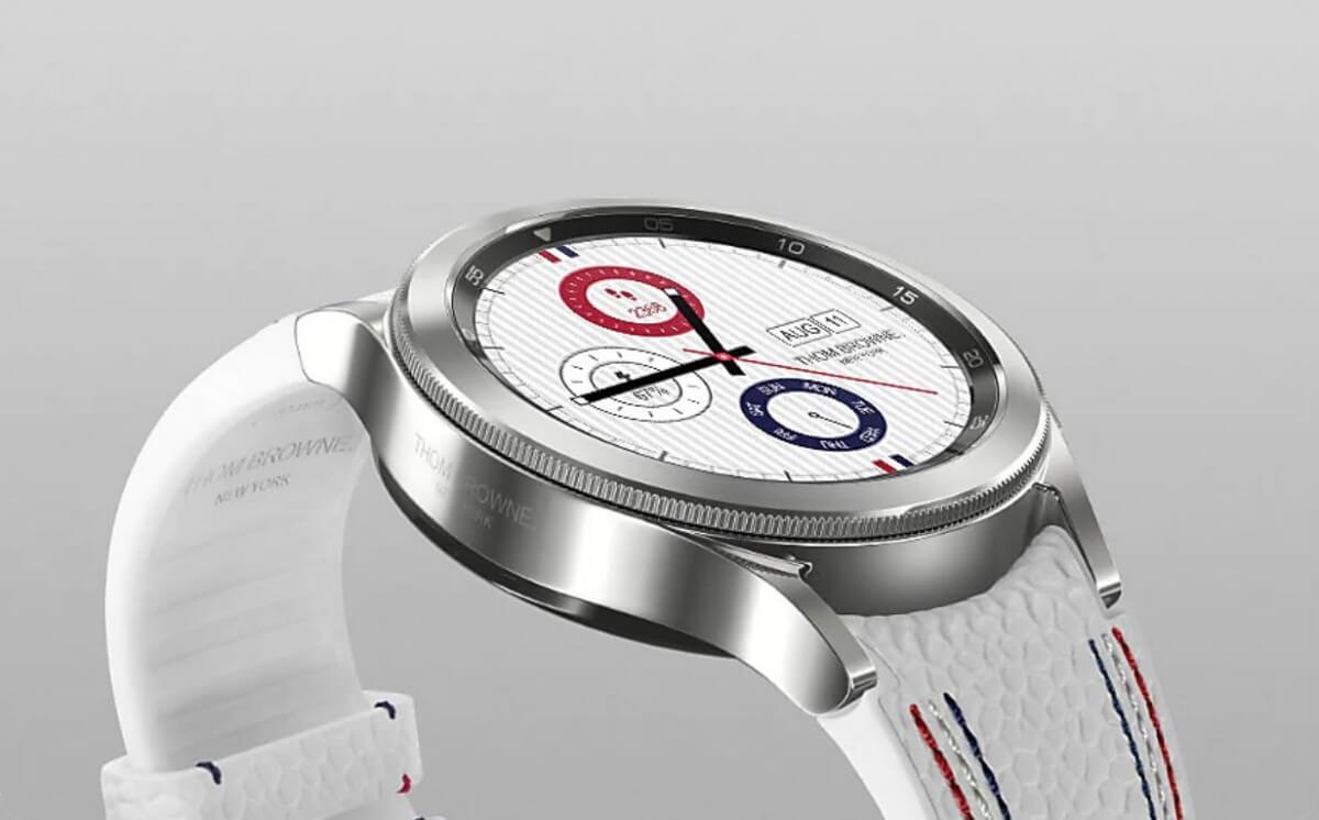 Представлений розумний годинник Galaxy Watch 4 Classic Thom Browne Edition – Український телекомунікаційний портал